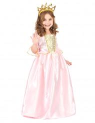 Costume principessa bambina con corona