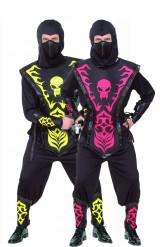 Costume coppia di ninja