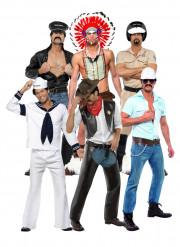 Costumi ufficiali gruppo dei Village People