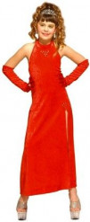 Costume bambina cabaret