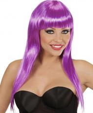 Parrucca glamour viola donna