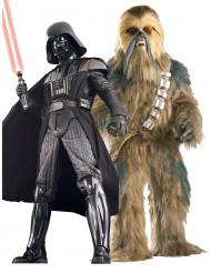 Costume coppia da collezione Dark Vader™ e Chewbacca™ Star Wars™
