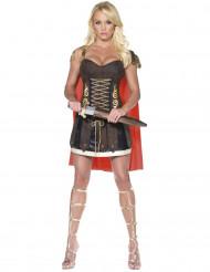Costume sexy da gladiatore donna