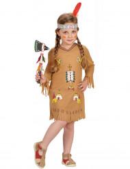 Costume da indiana da bambina