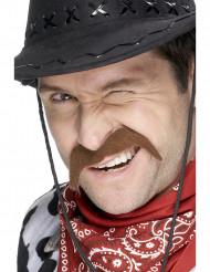 Baffi da cowboy per adulto