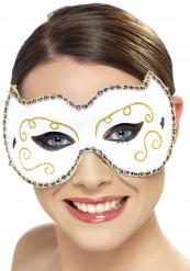 Maschera gatto bianco donna