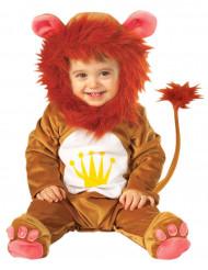 Costume da leone con criniera per neonato