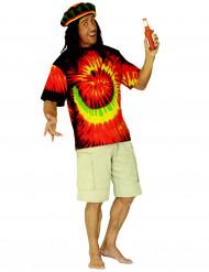 Maglietta rasta hippy adulto