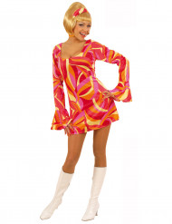 Costume disco donna rosso