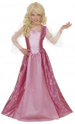 Costume principessa glamour bambina