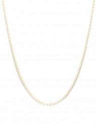 Collana di perle bianche