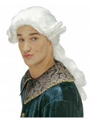 parrucca da marchese uomo
