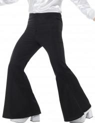 Pantaloni neri a zampa d