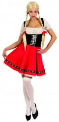 Costume da Heidi per adulto