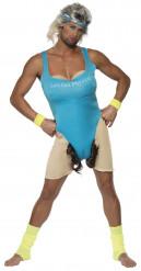 Costume istruttrice di ginnastica per uomo