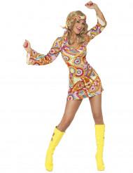 Costume hippy ballerina psicadelica donna