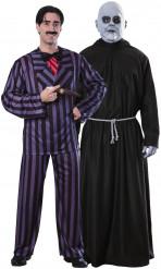 Costumi ufficiali coppia Gomez e Fester Addams
