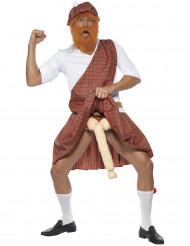 Costume umoristico da scozzese uomo