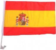 Bandiera per auto tifoso spagnolo