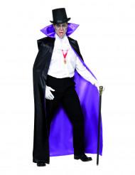 Mantello reversibile da Conte adulto Halloween