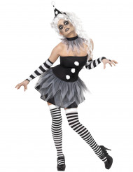 Costume sexy da Pierrot Halloween donna