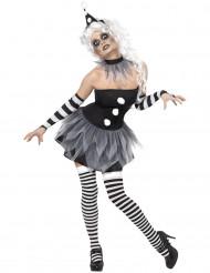 Costume sexy da Pierrot Halloween donna