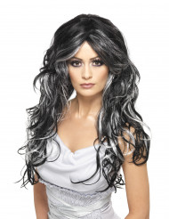 Parrucca gotica lunga donna Halloween
