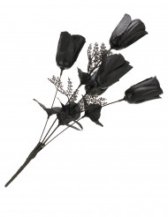 Bouquet di rose nere - Halloween