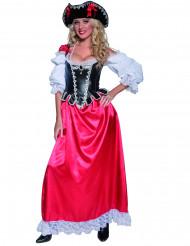 Costume pirata deluxe donna
