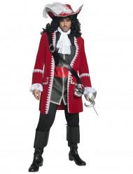Costume capitano dei pirati uomo