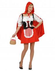 Costume cappuccetto rosso adulti