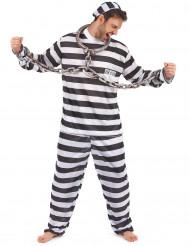 Costume da carcerato per uomo