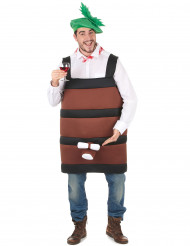 Costume botte di vino adulti