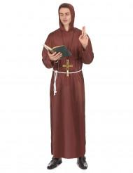 Costume da frate francescano per uomo