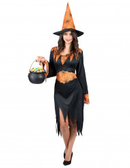 Costume strega ragno donna Halloween