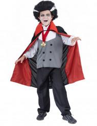 Costume vampiro bambino con medaglione