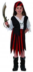 Costume pirata bambina