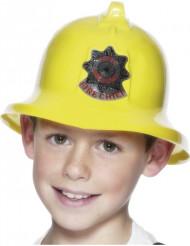 Casco da pompiere giallo