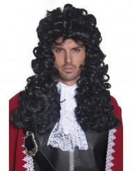 Parrucca da capitano dei pirati uomo