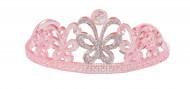 Diadema da principessa rosa