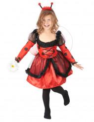 Costume simpatica coccinella bambina