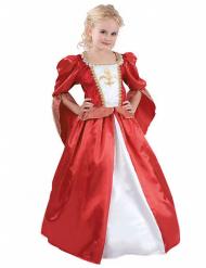 Costume principessa medievale per bambina