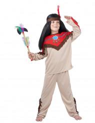 Costume capo indiano bambino