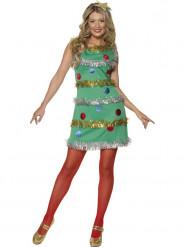 Costume albero di Natale donna