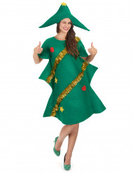 Costume da abete di Natale per donna