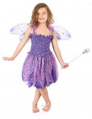 Costume fata viola bambina