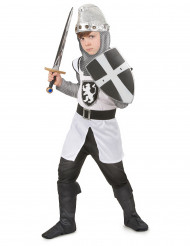 Costume cavaliere medievale crociato bambino