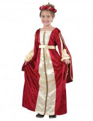Costume regina rinascimento medievale bambina
