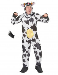 Costume da mucca con mammelle adulto