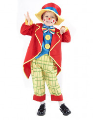 Costume clown multicolore per bambino